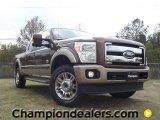 2012 Golden Bronze Metallic Ford F250 Super Duty King Ranch Crew Cab 4x4 #57440220