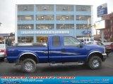 2003 Sonic Blue Metallic Ford F250 Super Duty XLT SuperCab 4x4 #57447094