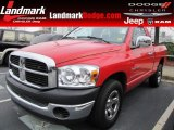 2007 Flame Red Dodge Ram 1500 ST Regular Cab #57447087