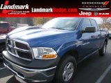 2011 Deep Water Blue Pearl Dodge Ram 1500 ST Quad Cab #57447085