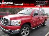 2007 Flame Red Dodge Ram 1500 ST Quad Cab #57447074