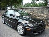 2005 Jet Black BMW 3 Series 330i Coupe #57447035