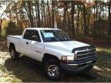 2001 Bright White Dodge Ram 1500 ST Club Cab 4x4 #57447432