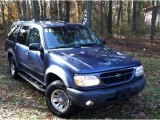 2000 Medium Wedgewood Blue Metallic Ford Explorer XLS 4x4 #57447431