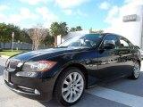 2007 Jet Black BMW 3 Series 335xi Sedan #57446975