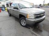 2008 Graystone Metallic Chevrolet Silverado 1500 LT Crew Cab 4x4 #57447178