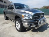2008 Mineral Gray Metallic Dodge Ram 1500 Lone Star Edition Quad Cab 4x4 #57447164