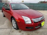 2008 Redfire Metallic Ford Fusion S #57447163