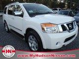 2012 Blizzard White Nissan Armada SL #57446814