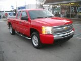 2010 Victory Red Chevrolet Silverado 1500 LT Extended Cab 4x4 #57447122