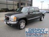 2005 Onyx Black GMC Sierra 1500 SLE Crew Cab 4x4 #57447297