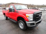 2012 Vermillion Red Ford F250 Super Duty XL Regular Cab 4x4 #57486470