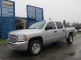 2012 Silver Ice Metallic Chevrolet Silverado 1500 LT Crew Cab 4x4 #57486435