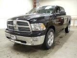 2012 Black Dodge Ram 1500 Big Horn Crew Cab 4x4 #57487007