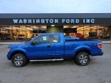 2012 Blue Flame Metallic Ford F150 STX SuperCab 4x4 #57486706
