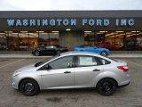 2012 Ingot Silver Metallic Ford Focus S Sedan #57486702
