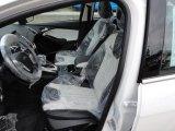 2012 Ford Focus Titanium Sedan Arctic White Leather Interior