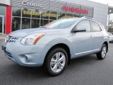2012 Frosted Steel Nissan Rogue SV #57486693