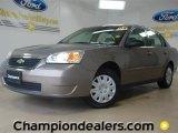 2008 Amber Bronze Metallic Chevrolet Malibu Classic LS Sedan #57486404