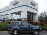 2000 Medium Wedgewood Blue Metallic Ford Explorer Sport 4x4 #57486389