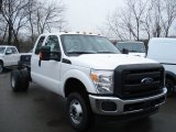 2012 Ford F350 Super Duty XL SuperCab 4x4 Dually Chassis Data, Info and Specs