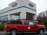 2011 Race Red Ford F150 Lariat SuperCab 4x4 #57486379