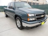 2006 Blue Granite Metallic Chevrolet Silverado 1500 LT Extended Cab #57486650