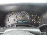 2006 Chevrolet Silverado 1500 LT Extended Cab Gauges