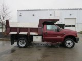 2004 Ford F450 Super Duty XL Regular Cab Chassis Dump Truck Exterior