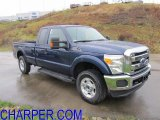 2012 Dark Blue Pearl Metallic Ford F250 Super Duty XLT SuperCab 4x4 #57486293
