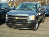 2012 Blue Granite Metallic Chevrolet Silverado 1500 Work Truck Regular Cab #57486287