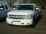 2012 Summit White Chevrolet Silverado 1500 LT Crew Cab 4x4 #57486283