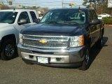 2012 Black Chevrolet Silverado 1500 LS Crew Cab 4x4 #57486282