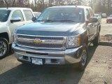 2012 Blue Granite Metallic Chevrolet Silverado 1500 LS Crew Cab 4x4 #57486280
