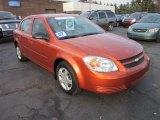 2007 Sunburst Orange Metallic Chevrolet Cobalt LS Sedan #57486255