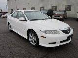 mazda 6 2004 white. performance white 2004 mazda6 s sedan mazda 6 d