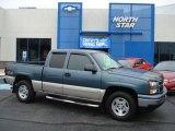 2006 Blue Granite Metallic Chevrolet Silverado 1500 LT Extended Cab 4x4 #57486566