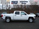2012 Summit White Chevrolet Silverado 1500 LT Crew Cab 4x4 #57486552