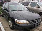 2002 Nighthawk Black Pearl Honda Accord EX V6 Sedan #57486832