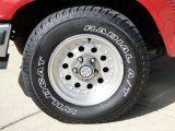 Ford Ranger 1992 Wheels and Tires