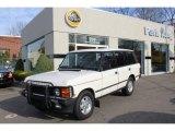 1995 Land Rover Range Rover Alpine White