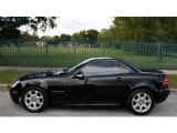 2001 Mercedes-Benz SLK Black