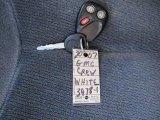 2007 GMC Sierra 2500HD Classic SLE Crew Cab 4x4 Keys