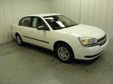 2005 White Chevrolet Malibu Sedan #57540059