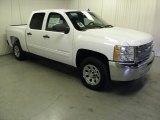 2012 Summit White Chevrolet Silverado 1500 LS Crew Cab #57540055