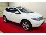 2010 Glacier White Pearl Nissan Murano LE #57539759