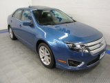 2010 Sport Blue Metallic Ford Fusion SEL V6 #57540048
