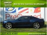 2010 Aqua Blue Metallic Chevrolet Camaro SS/RS Coupe #57540389
