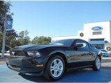 2011 Ebony Black Ford Mustang V6 Premium Coupe #57539713