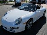 2008 Carrara White Porsche 911 Carrera S Cabriolet #57539687